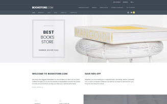 Books Responsive Shopify Theme