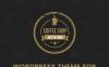 """Coffee Shop - Cafe Bar Pub Restaurant"" Responsive WordPress thema Groot  Screenshot"