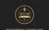 """Coffee Shop - Cafe Bar Pub Restaurant"" Responsive WordPress thema"