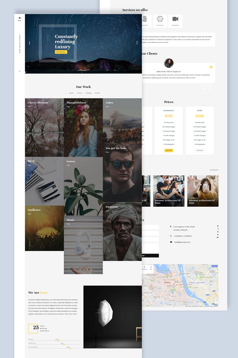 Dune WordPress Theme - screenshot