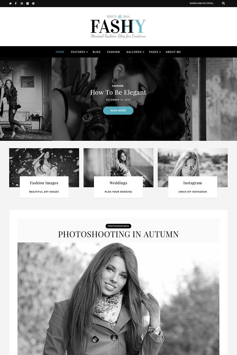 Fashy - Fashion Blog WordPress Theme - screenshot