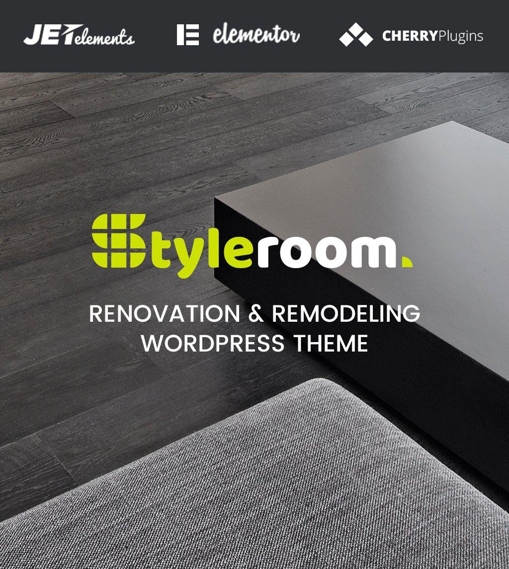Responsivt StyleRoom - House Renovation Responsive WordPress Theme WordPress-tema #64987