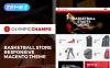Reszponzív Kosárlabda témakörű  Magento sablon New Screenshots BIG