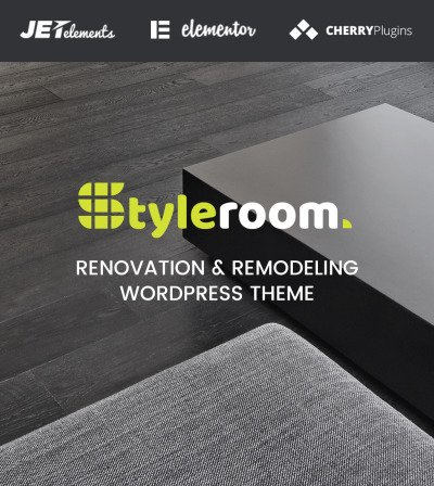 StyleRoom - House Renovation Responsive WordPress Theme