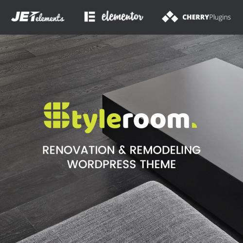 StyleRoom - House Renovation Responsive WordPress Theme - HTML5 WordPress Template
