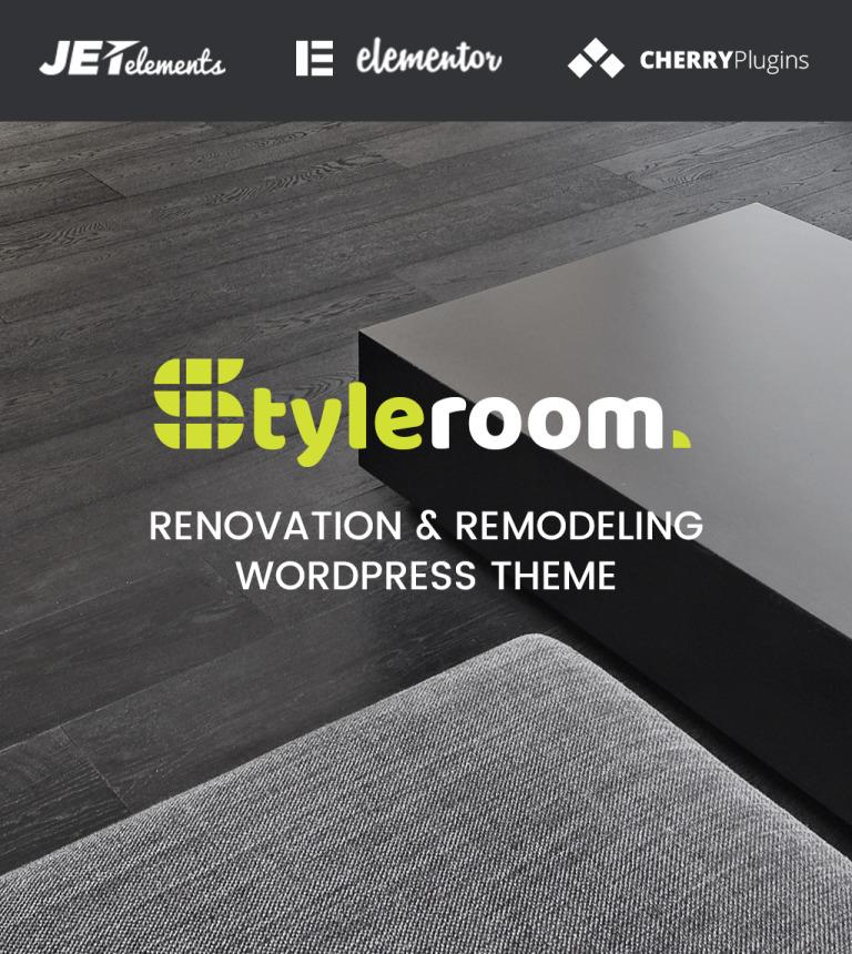 StyleRoom - House Renovation Responsive WordPress Theme New Screenshots BIG