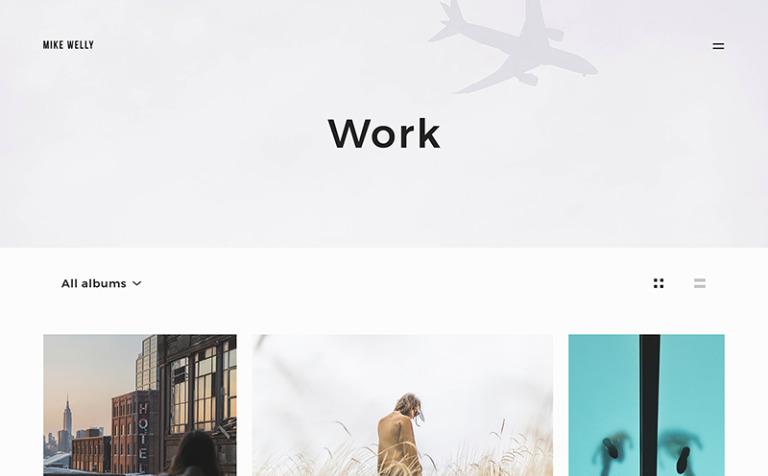 Tema de WordPress #64931 para Sitio de Portafolios de diseñadores
