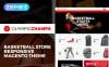 Thème Magento adaptatif  pour site de basketball New Screenshots BIG