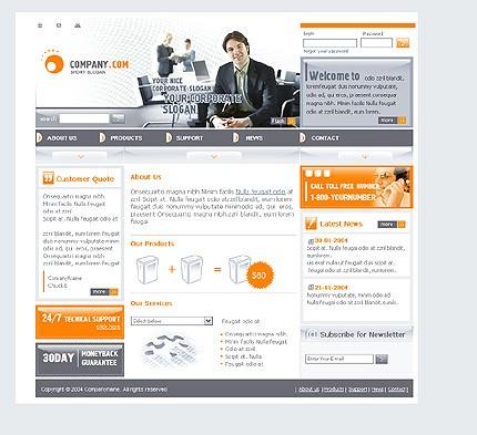 Многостраничный шаблон для сайта (6530)
