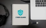 Cyber Guard - IT Cyber Security Company Business Logo