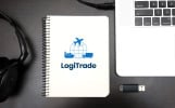 LogiTrade - International Transportation and Logistics Company Business logo