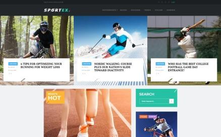 Sportex - Sports News Responsive WordPress Theme