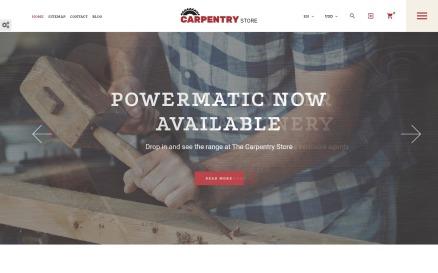 Carpentry Store PrestaShop Theme