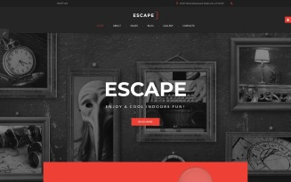 Escape - Escape Room Joomla Template
