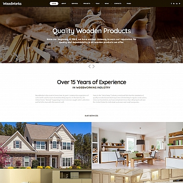 Preview image of Interior & Furniture Moto CMS 3 template No. 65086