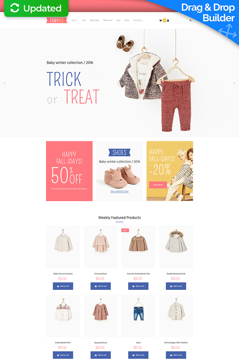 Online store - Template Monster