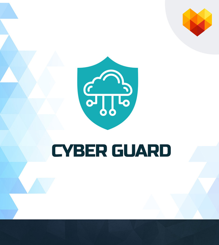 Cyber guard logo template 65018 cyber guard it cyber security company business logo big screenshot flashek Images