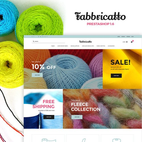 Fabbricatto - PrestaShop Template based on Bootstrap