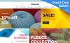 """Fabricatto -  Hobbies & Crafts"" - адаптивний MotoCMS інтернет-магазин New Screenshots BIG"