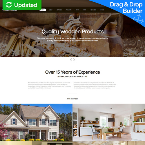 Furniture - MotoCMS 3 Template based on Bootstrap