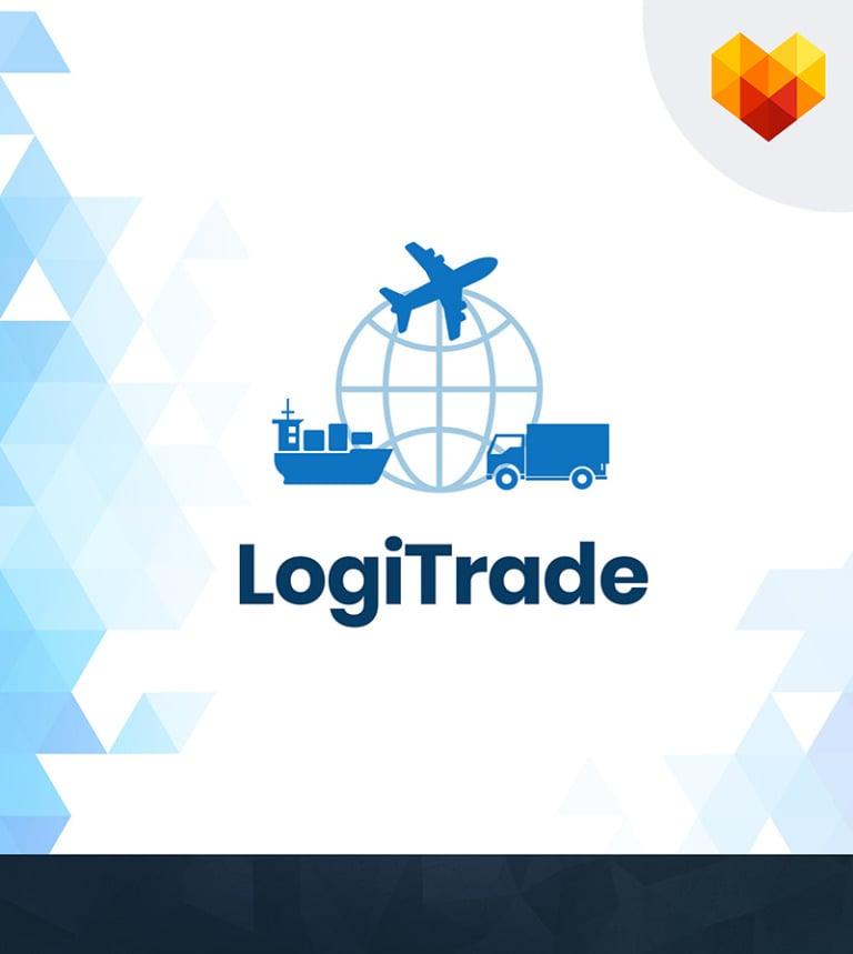 Transportation logo template 65019 logitrade international transportation and logistics company business logo big screenshot accmission Gallery