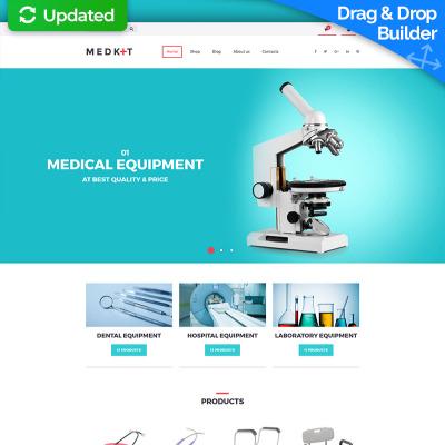 Medical equipment templates templatemonster toneelgroepblik Gallery