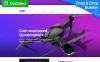 "MotoCMS E-Commerce Vorlage namens ""Moox - Drone Store"" New Screenshots BIG"