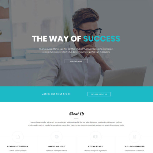 Othelo - Landing Page Template based on Bootstrap
