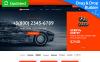 Plantilla MotoCMS para comercio electrónico para Sitio de Ruedas y neumáticos New Screenshots BIG