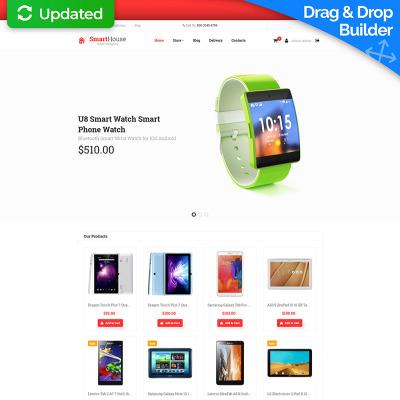 Plantilla MotoCMS para comercio electrónico #59527 para Sitio de ...