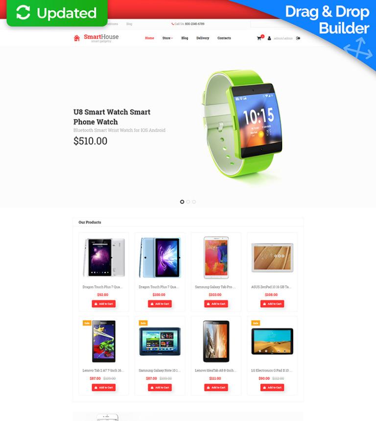 Plantilla MotoCMS para comercio electrónico #65056 para Sitio de ...