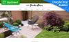 Responsive Bahçe Tasarımı  Moto Cms 3 Şablon New Screenshots BIG