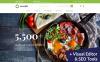 Responsive MotoCMS E-Commerce Vorlage für Lebensmittelgeschäft  New Screenshots BIG