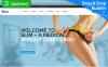 Responsives Moto CMS 3 Template für Gewichtsabnahme  New Screenshots BIG
