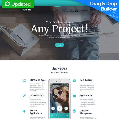 Homepage Vorlagen für Website | Homepage erstellen | Website erstellen