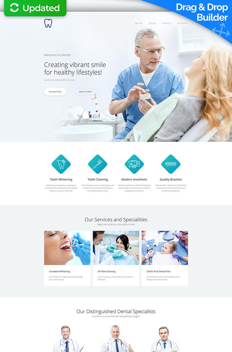 Skyline - Dentist MotoCMS 3 №65037 - скриншот