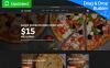 Tema MotoCMS E-commerce Responsive #65055 per Un Sito di Pizza New Screenshots BIG