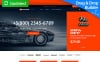 Template Ecommerce MotoCMS  Flexível para Sites de Rodas e Pneus №65057 New Screenshots BIG