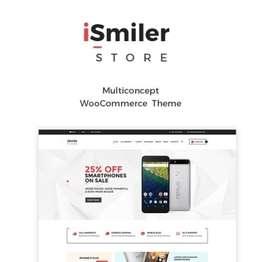 Preview image of Ismiler - Electronics Store