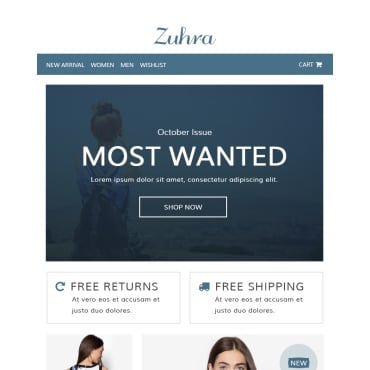 Preview image of Zuhra - Ecommerce
