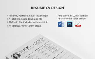 MS Word And PSD CV