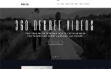 Адаптивный WordPress шаблон №65159 на тему видео студия