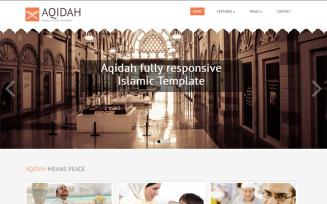 Aqidah Responsive Islamic Joomla Template