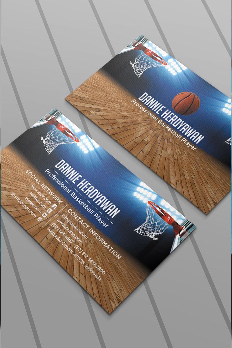 Basketball Business Card Psd #65118