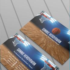Personal profile psd template basketball business card colourmoves