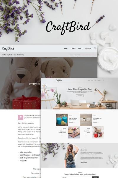 Адаптивный WordPress шаблон №65154 на тему домашний декор