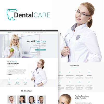 DentalCare - Tema WordPress para Sitio de Clínica Dental #65156