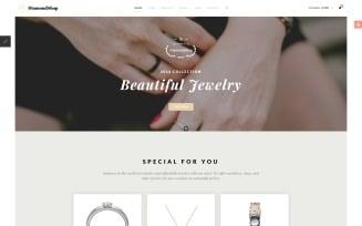 DiamondShop - Jewelry Store Joomla Template
