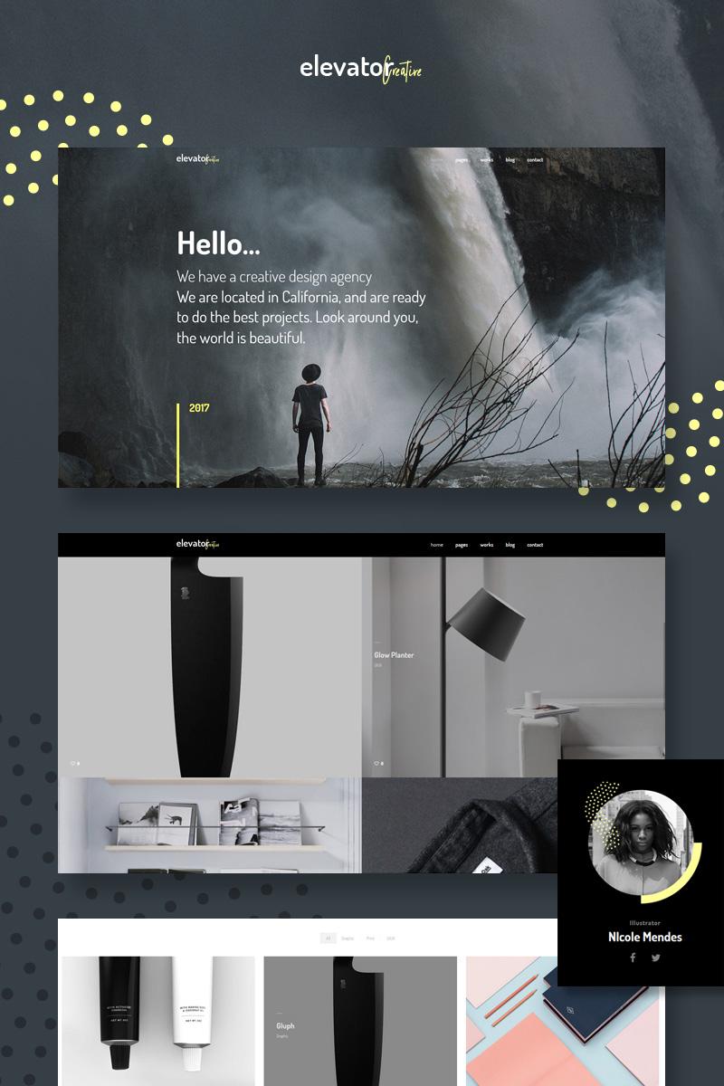 Elevator - Creative Corporate Portfolio №65144 - скриншот