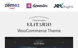 Elitario - İçki Mağazası WordPress Teması